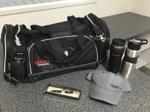 Isuzu Prize Pack (also includes an umbrella)
